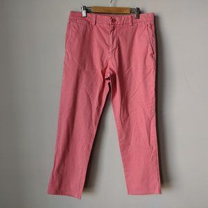 Vineyard Vines Slim Pant Stretch 30 x 27 Pink